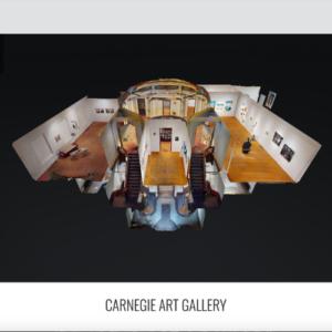 Screenshot of Carnegie Gallery Virtual Walkthrough website
