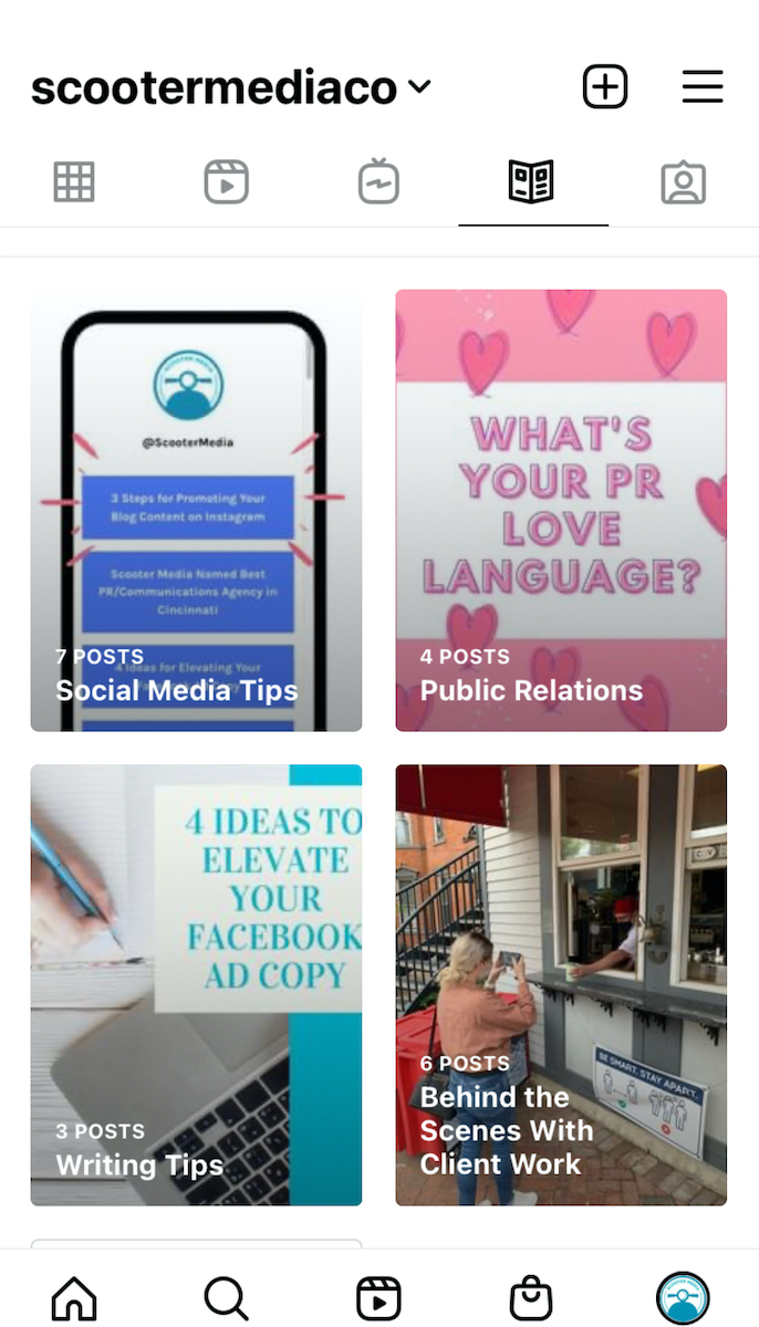 Instagram Guide examples