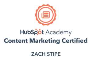 Content Marketing Certification Badge