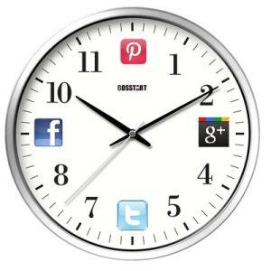 SocialMediaSchedulingClock
