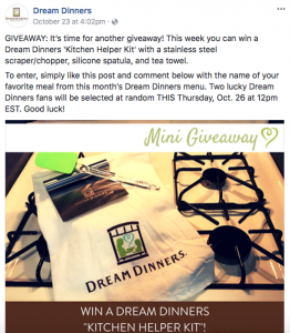 FacebookGiveawayExample