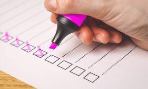 checklist - PR