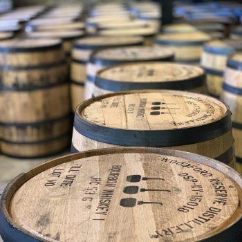 Woodford Bourbon Barrels