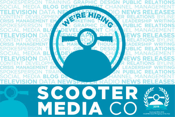Scooter Media Logo with Hiring Copy