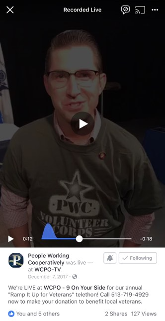 PWC Facebook Live