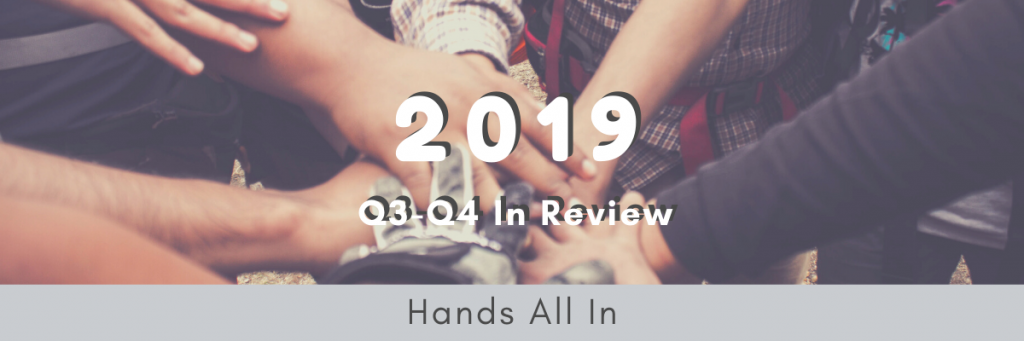 Scooter Media - Annual Report Example 1 - 2019 Q1 and Q2 Hands All In Report Cover