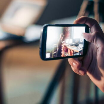 Smartphones have become video cameras on the go for many.