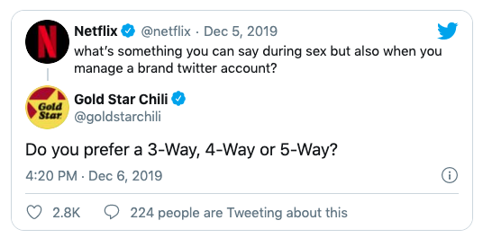 Gold Star Chili Viral Tweet
