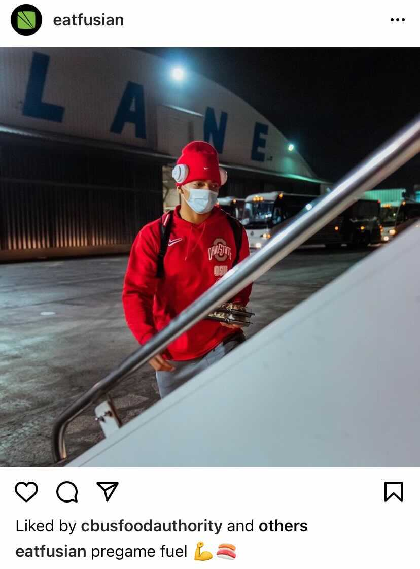 screenshot from Fusian Instagram account
