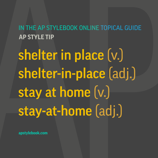 AP Stylebook Updates on Pandemic-Related Words