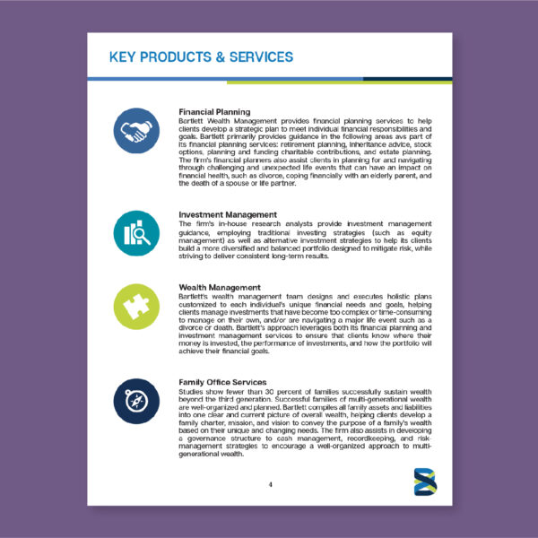 BARTLETT WEALTH MANAGEMENT: Media Kit